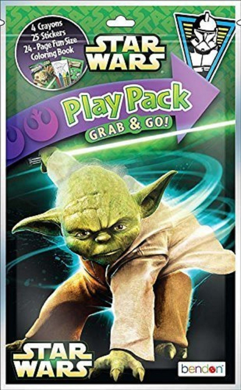 Star Wars Play Pack Under Attack Grab and Go Bendon