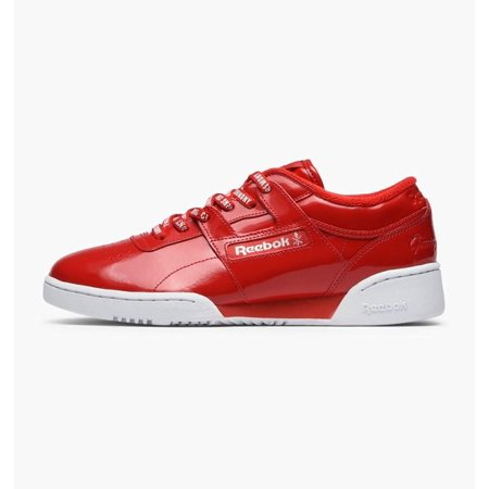 9b5ae9e603115 Mens Reebok x Opening Ceremony Workout Lo Clean Scarlet Red White CN56 -  Walmart.com