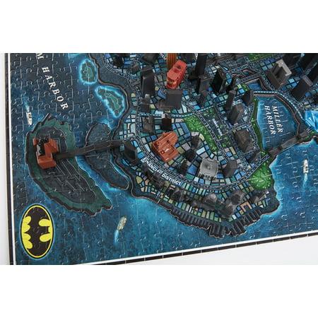 4D Cityscape 4D Batman Gotham City Time Puzzle (1000 Piece) - image 10 of 10
