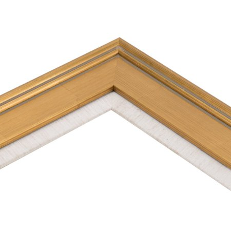 Plein Air Gold Wooden Picture Frame with Linen Liner - 8 x 10