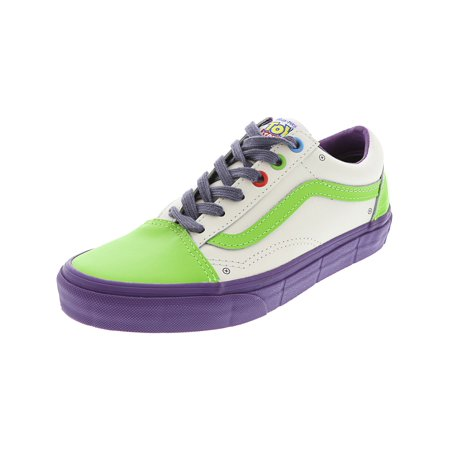 Vans Old Skool Buzz Lightyear   True White Ankle-High Skateboarding Shoe -  5.5M 4M 40410e16493b