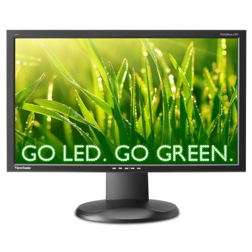 ViewSonic VG2428WM-LED 24in Ws Led 1920x1080 1000:1 Mntr Vg2428wm-led Dvi Vga 5ms Spkr