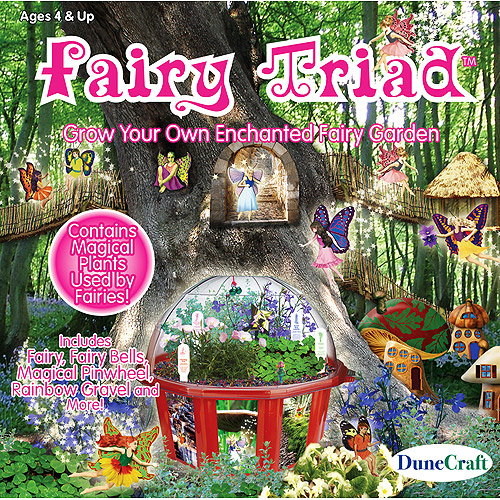 DuneCraft Fairy Triad - Garden Kit