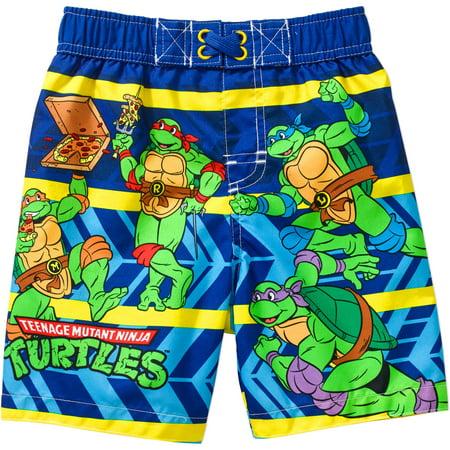 2afa34acc6 Teenage Mutant Ninja Turtles - Toddler Boy Swim Trunks - Walmart.com