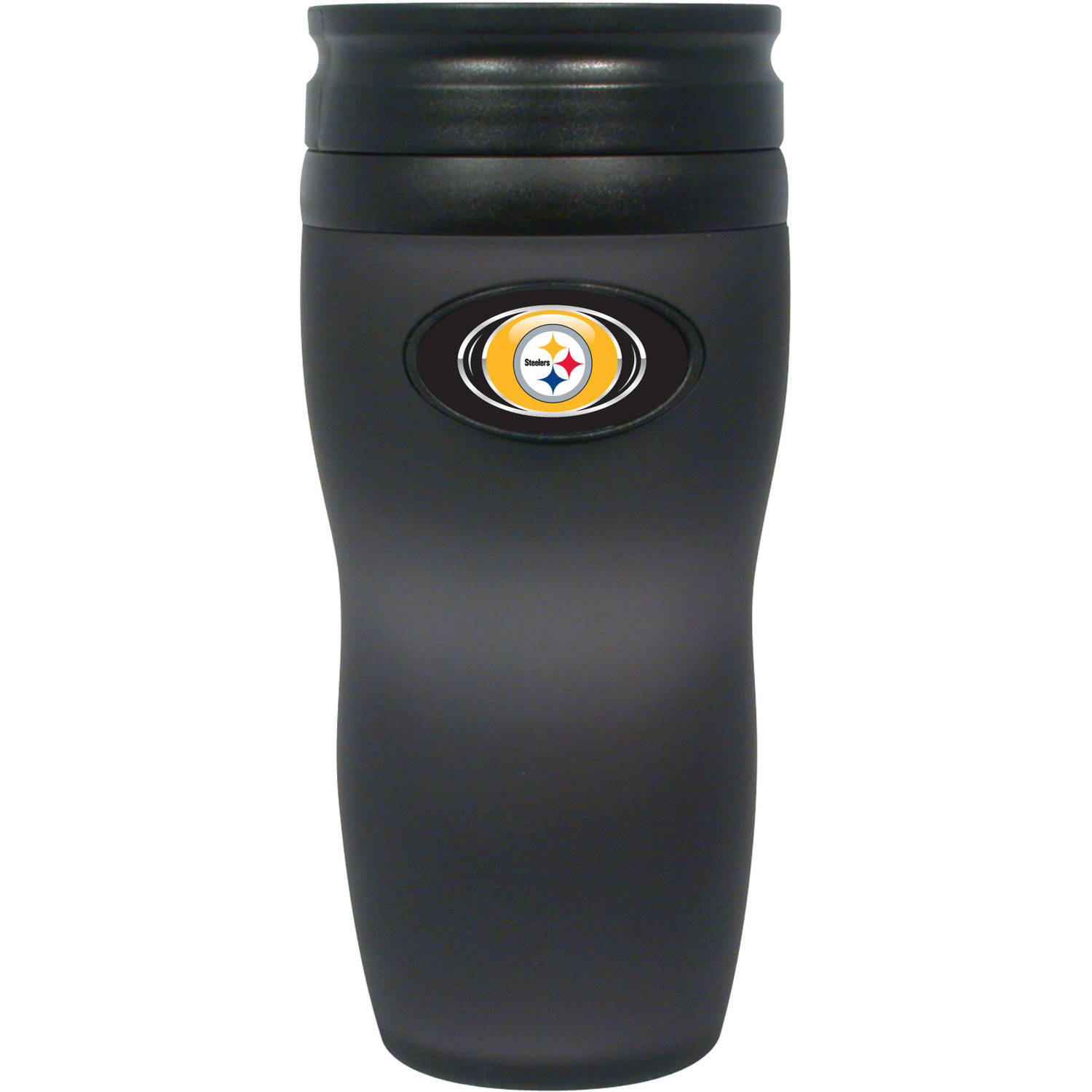 NFL Soft Touch Travel Tumbler, Pittsburgh Steelers