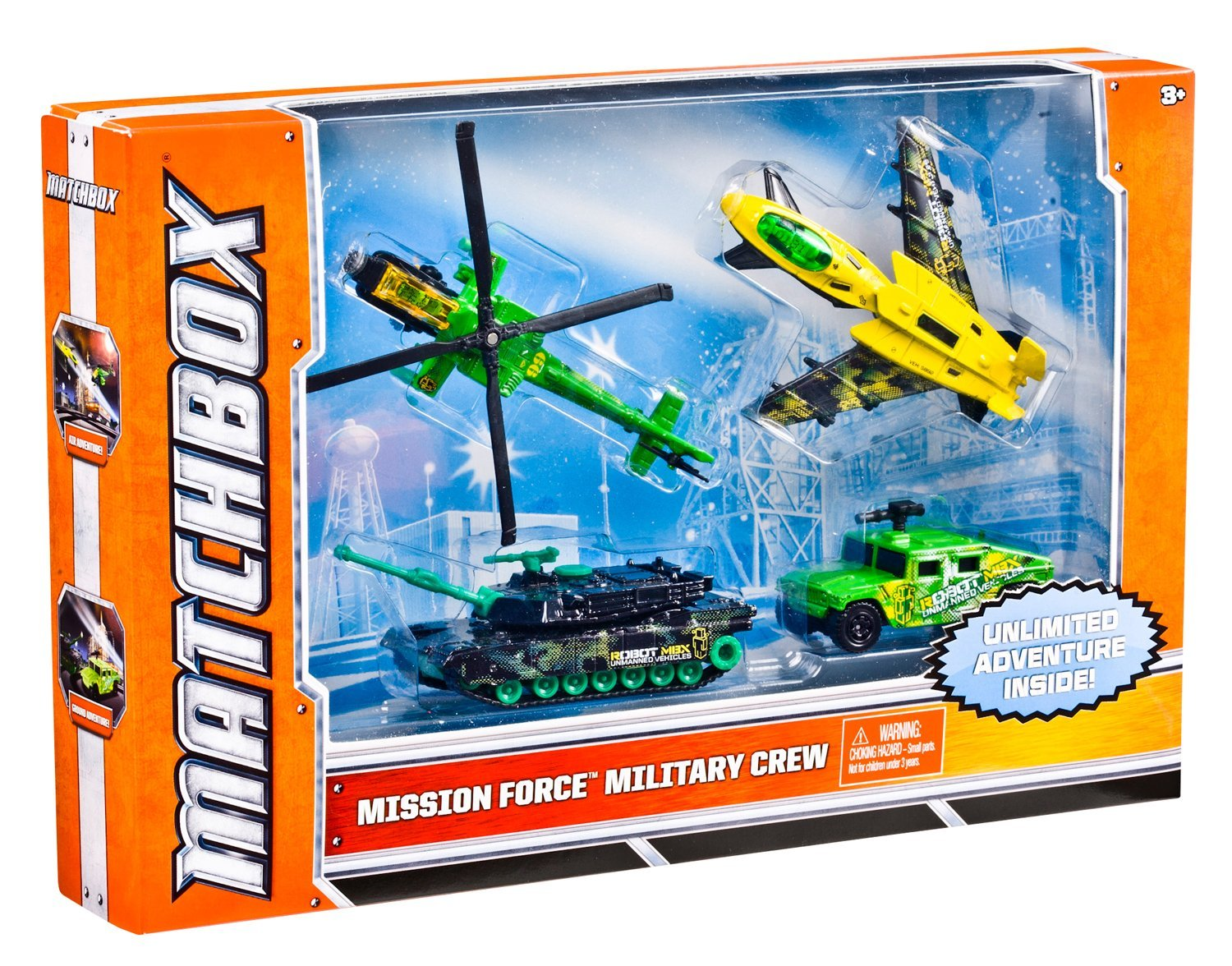 Matchbox Sky Busters Mission Force Military Pack by