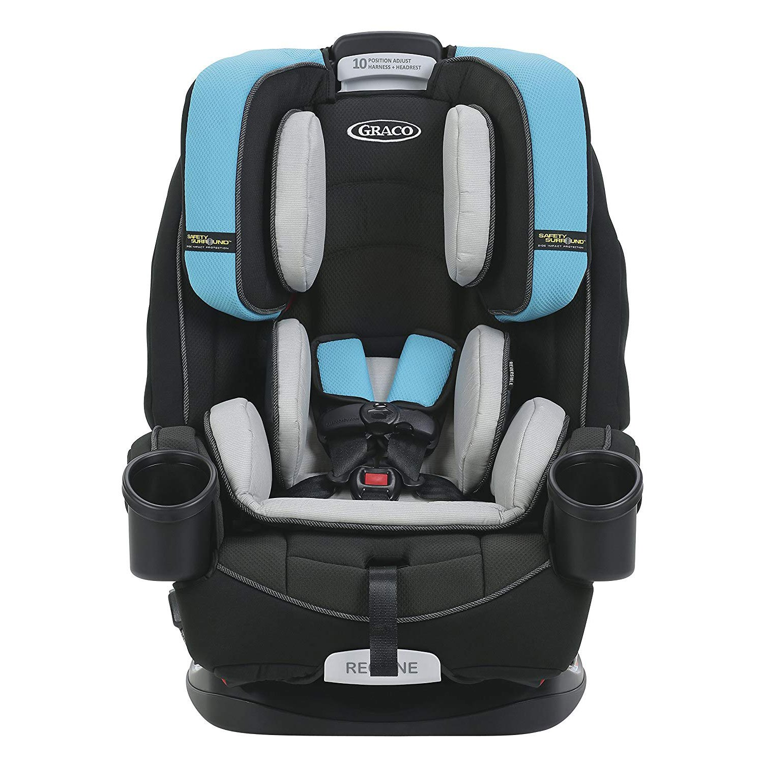 b1326491e104f Graco 4Ever Safety Surround Side Impact 4 in 1 Convertible Child Car Seat