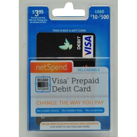amex bb gpr starter - Netspend Prepaid Visa Debit Card
