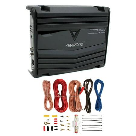 Kenwood KAC-5206 KAC Series 2-Channel 400-Watt Bridgeable Cl AB Power on