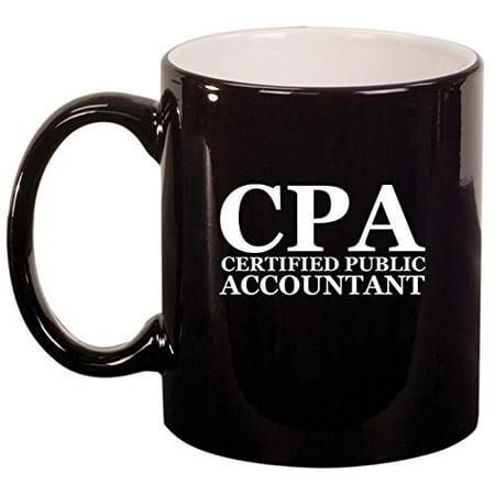 Ceramic Coffee Tea Mug Cup CPA Certified Public Accountant
