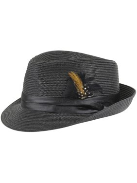 71cb7a6ada9 Product Image Stacy Adams Men s Teardrop Homburg Hat