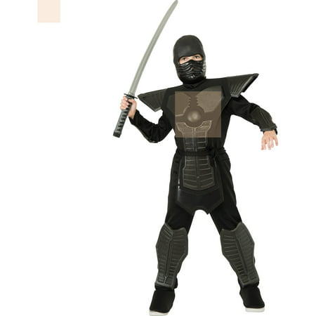 Black Ninja Boy Halloween Costume