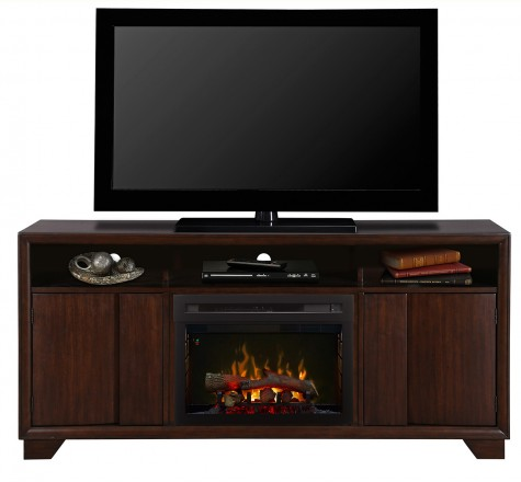 Dimplex Arkell GDS25LD-1412AW Electric Fireplace Media Console