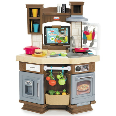 Little Tikes Cook 'n Learn Smart Kitchen with 40+ Piece Accessory Set and 4 Play