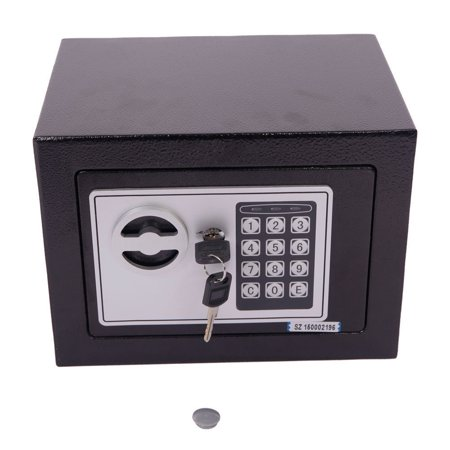 al Electronic Safe Box Keypad Lock Home Office Hotel Safety Black (Electronic Laptop Safe)