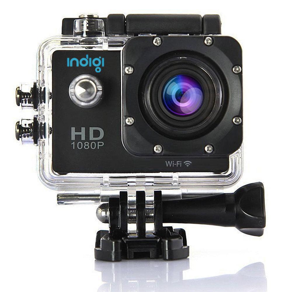 inDigi Waterproof 1080p HD Outdoor Waterproof ActionCAM w...