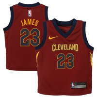 LeBron James Cleveland Cavaliers Nike Toddler Replica Jersey Maroon - Icon Edition