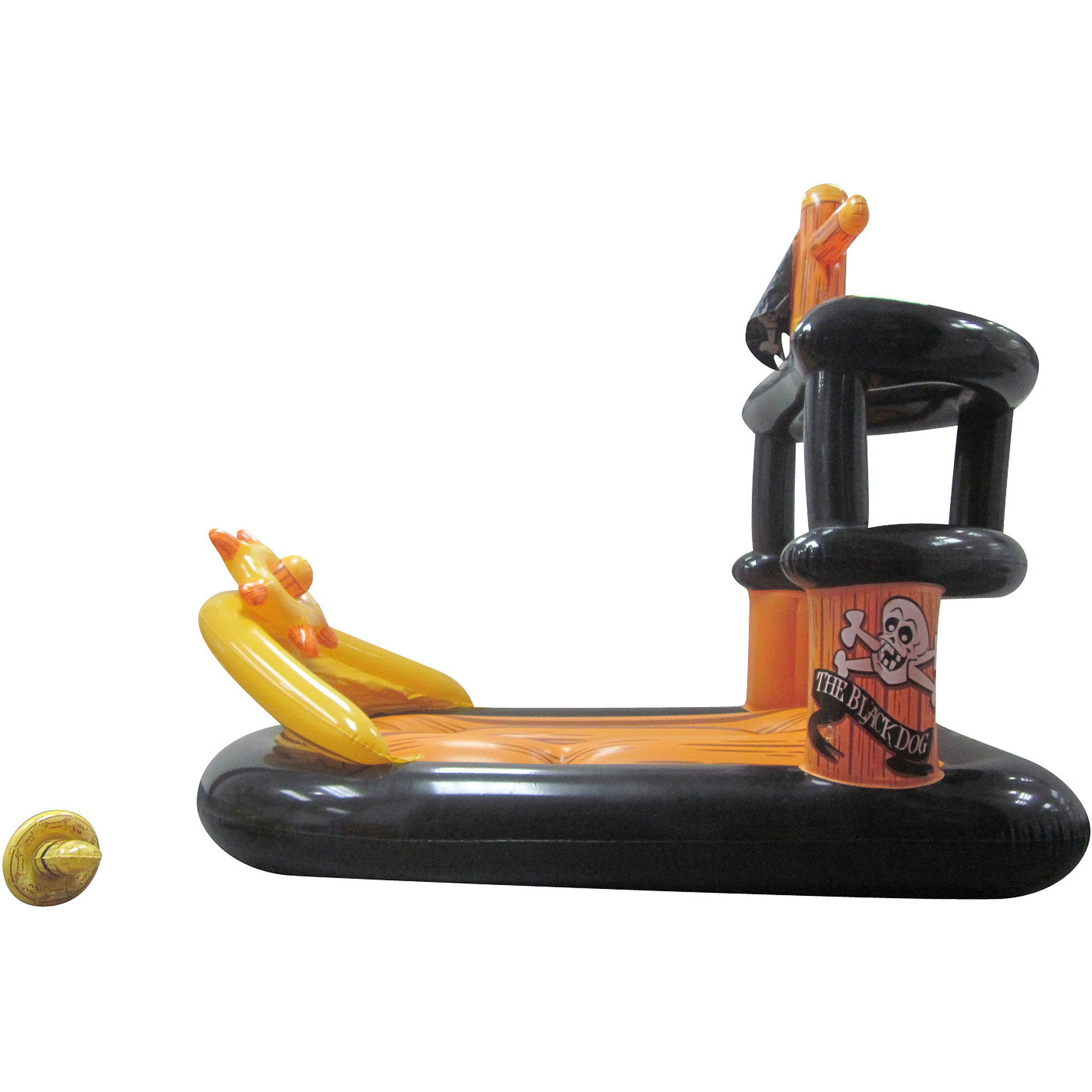 Banzai Ahoy Matey Inflatable Pirate Ship with Water Blaster