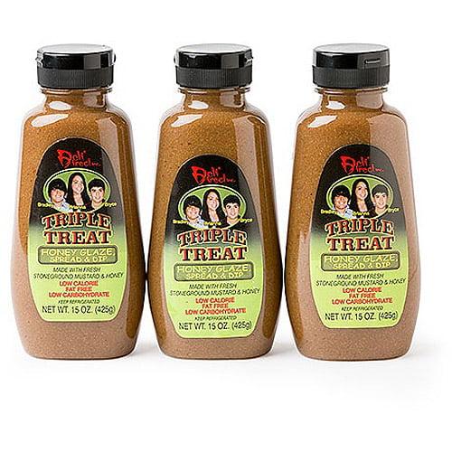 Deli Direct Triple Treat Honey Glaze, Spread & Dip, 15 oz