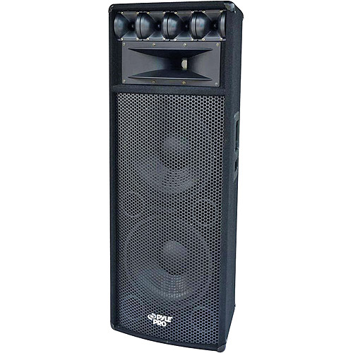 "Pyle 12"" 1600-Watt Heavy Duty PA Speaker With MDF Construction With Reinforced Corners"