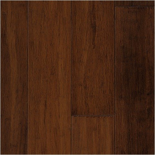 Forest Valley Flooring Premium Green Bamboo 5'' Hand-Scraped Solid in Viper