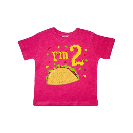 Im Two- taco birthday party Toddler T-Shirt](Taco Party Decorations)