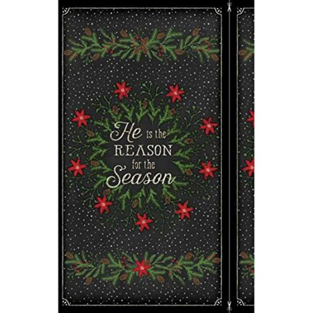 Jennifer Pugh Reason for The Season Multi Panel, Sold by the panel. By Wilmington (Wilmington Mall Stores)