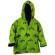 Foxfire FOX-601-36-8 Childrens Green Sand Toys Raincoat - Size 8