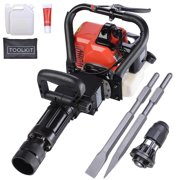 Best Jack Hammers - Yescom 2in1 32.7cc Gasoline Demolition Jack Hammer Pile Review