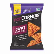 PopCorners Sweet Chili Popped Corn Chips 1.1 oz Bags - Pack of 40