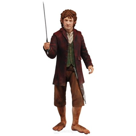 "The Hobbit An Unexpected Journey Bilbo Baggins 1:4 Scale 12"" Action Figure - image 1 de 1"