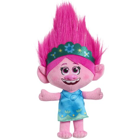 Trolls World Tour 8 Inch Small Plush Poppy, Ages 3+