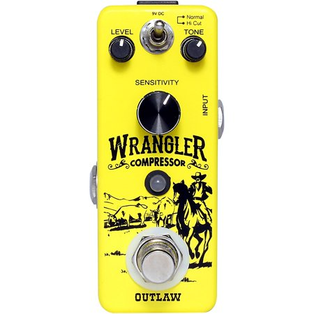 Outlaw Effects Wrangler Compressor Effects Pedal ()