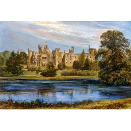 UK Staffordshire Near Cheadle Alton Towers unknown artist Stretched Canvas -  (18 x 24) - Alton Towers Halloween Package