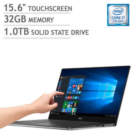 Dell XPS 15 9570 15 6 4K UHD Touchscreen Intel i7-8750HQ 2 2GHz 32GB RAM  1TB SSD