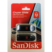 SanDisk 32GB Cruzer Glide USB 2.0 Flash Drive 2 Pack - SDCZ60-032G-AW4