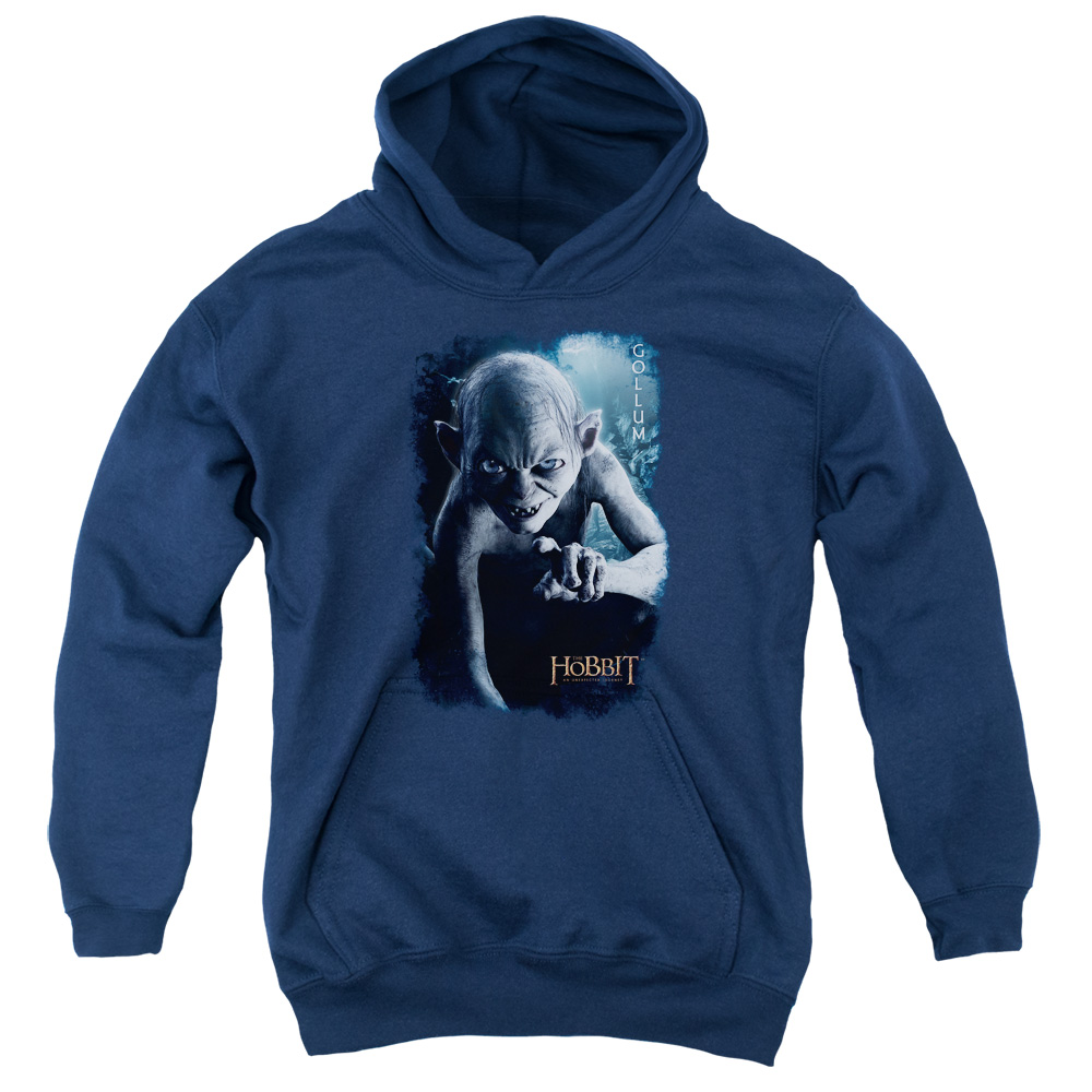 The Hobbit Gollum Poster Big Boys Pullover Hoodie