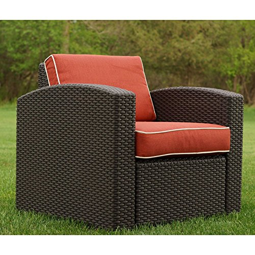 Strata Furniture Cielo Patio Dining Chair wtih Cushions & Strata Furniture Cielo Patio Dining Chair wtih Cushions - Walmart.com