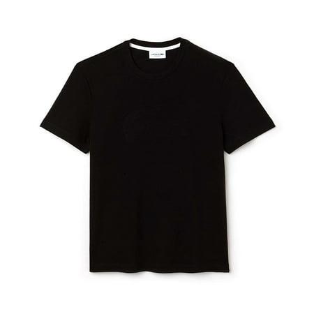 Lacoste Men Cotton Croc Graphics Regular Jersey T-Shirt