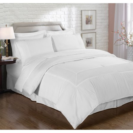 French Impression Mason Manor 8 Piece Bed-in-a-Bag with Sheet Set (French Toile Bedding Collection)