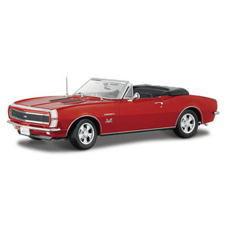 1967 Chevy Camaro SS 396 Convertible, Red - Maisto 31684 - 1/18 Scale Diecast Model Toy Car