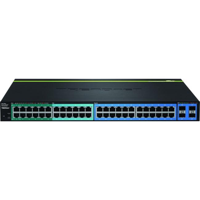 TRENDnet 48-Port Gigabit Web Smart PoE+ Switch by TRENDnet