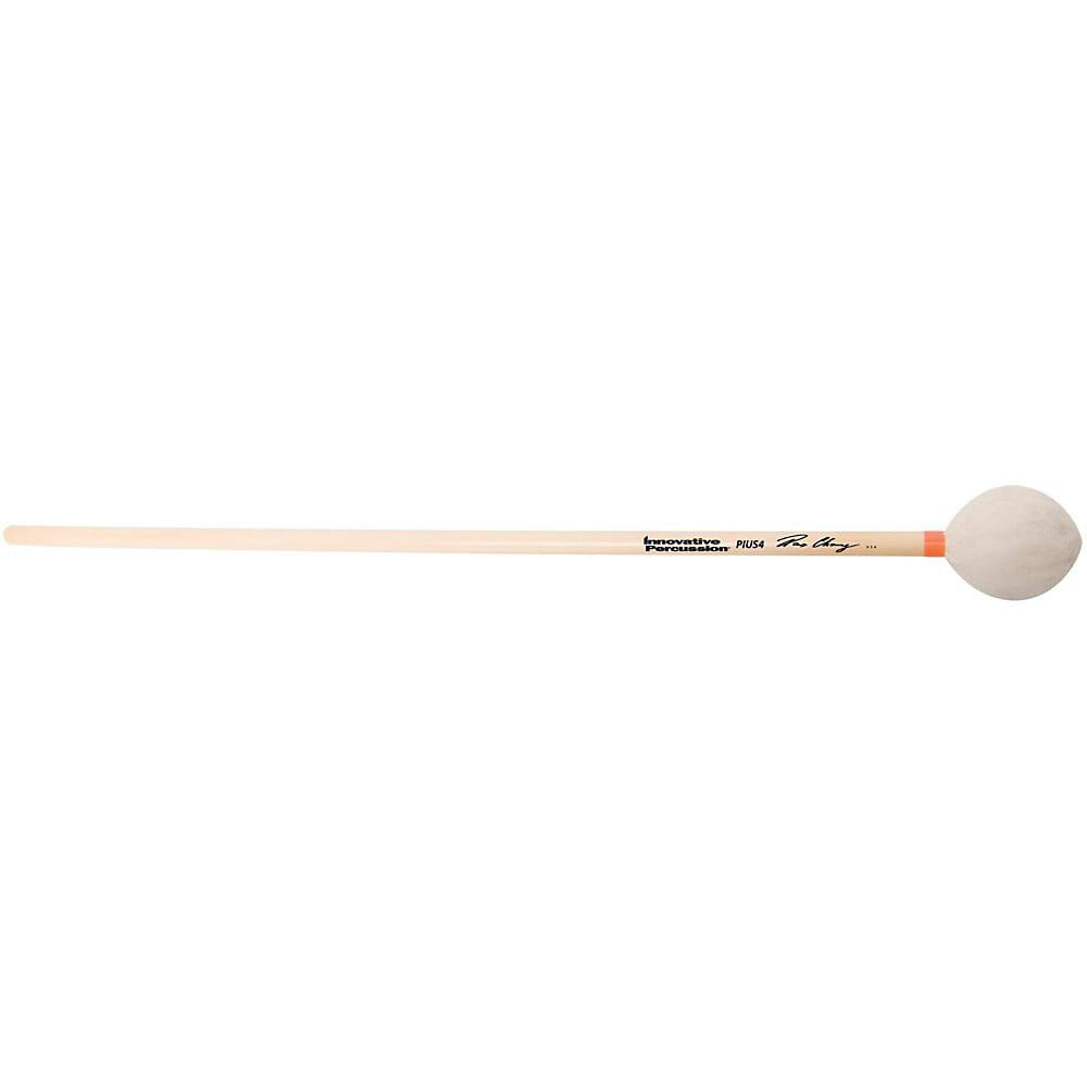 Innovative Percussion Pius Cheung Marimba Mallets Medium Hard White Yarn Rattan by Innovative Percussion
