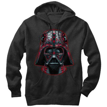 Star Wars Men's Darth Vader Helmet Markings Hoodie](Darth Vader Hoodie)