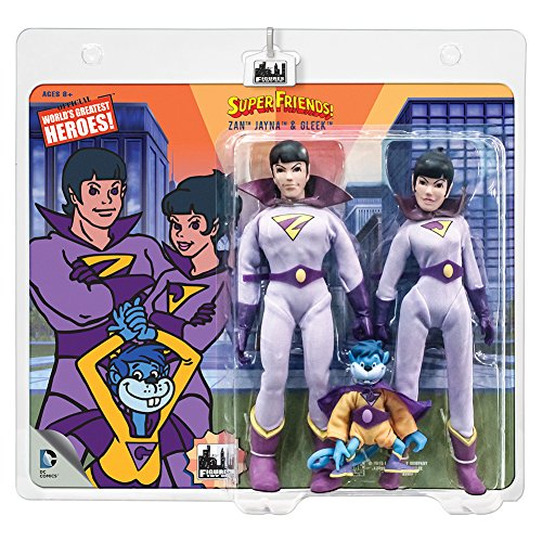 Super Friends Action Figures The Wonder Twins Gleek Three Pack 8 Inch Action Figures - image 1 de 1