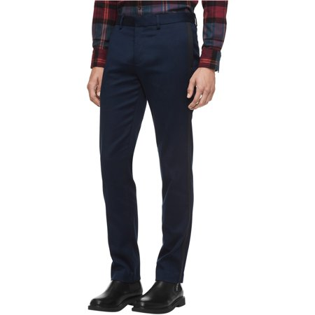 Calvin Klein Mens Taped Seam Stretch Dress Pants Slacks Mens Corduroy Dress Pants