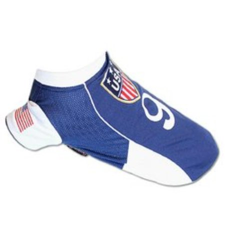 15c868e20 Pet Clothes USA Soccer Jersey Dog Apparel (M)