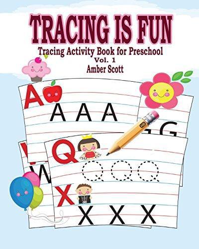 Tracing Is Fun (Tracing Activity Book for Preschool) Vol. 1 by