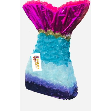 APINATA4U Mermaid Tail Pinata](Little Mermaid Pinatas)