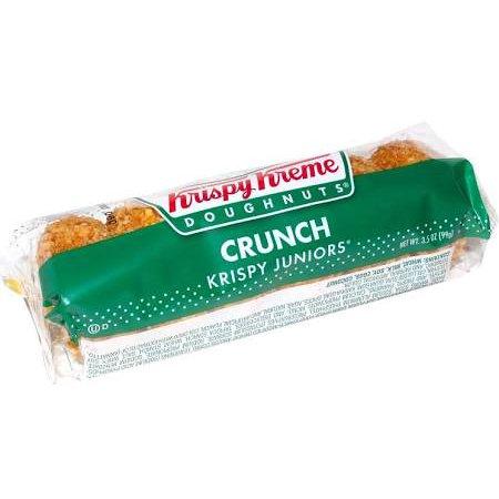 Krispy Kreme Junior Crunch Doughnuts, 3.5 oz, 12 per